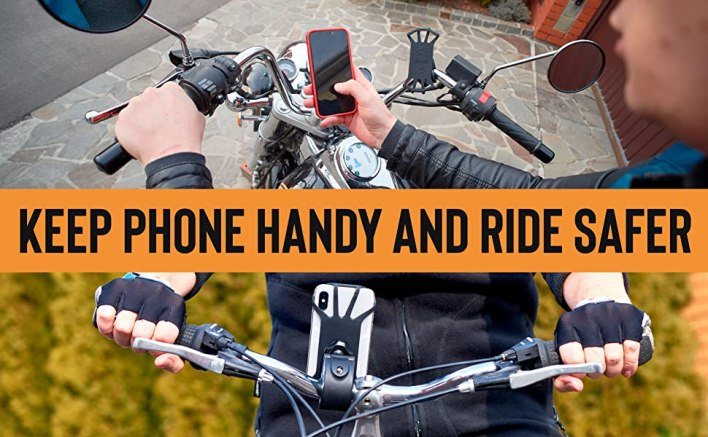 Bicycle and Motorcycle Phone Mount