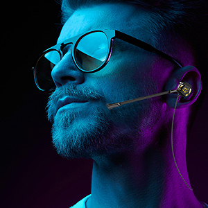 Gaming Earphone with mic call+volume control