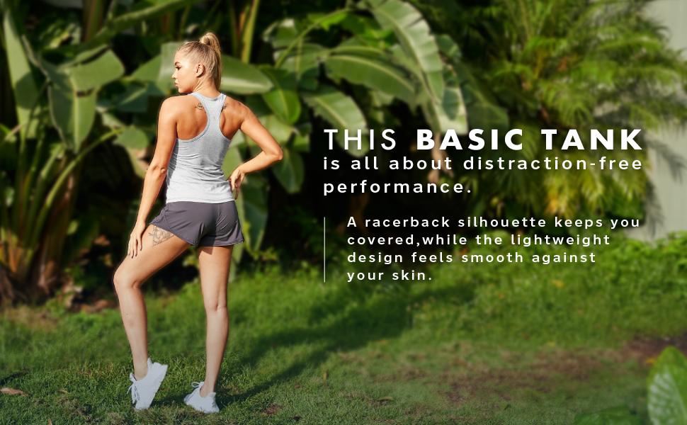 racerback yoga tops workout tank tops women
