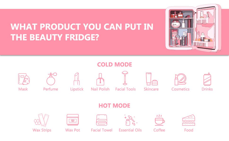 skincare fridge
