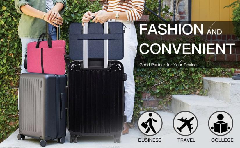 Fashion & Slim Laptop Sleeve Shoulder Bag