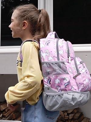 rolling backpack tilami student girls boys school laptop roller bags nursing travel