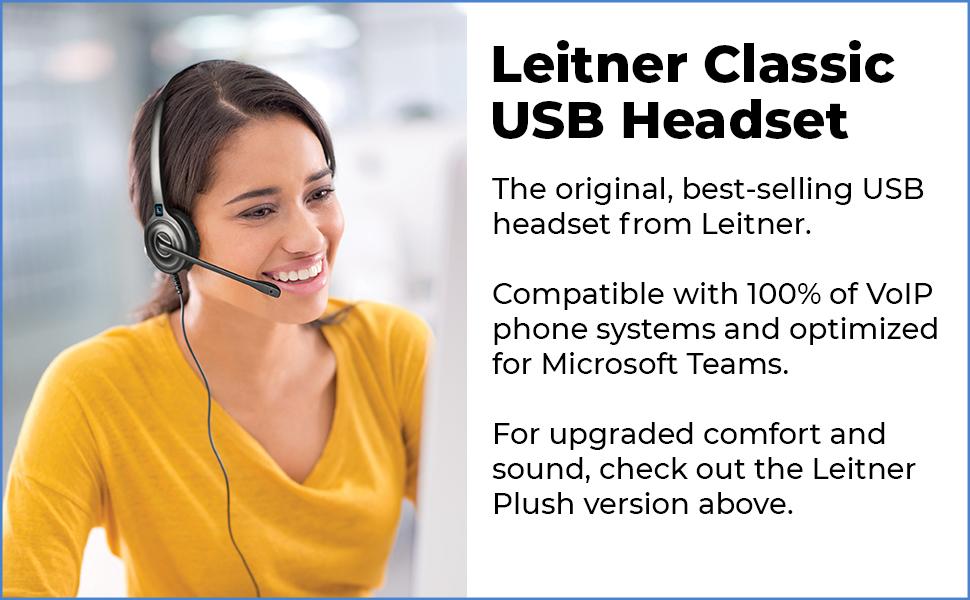 usb headset, voip headset, call center headset