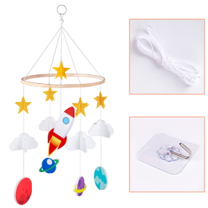 mobile for crib mobile for infant bed mobile for baby room mobile for play yards planet crib mobile