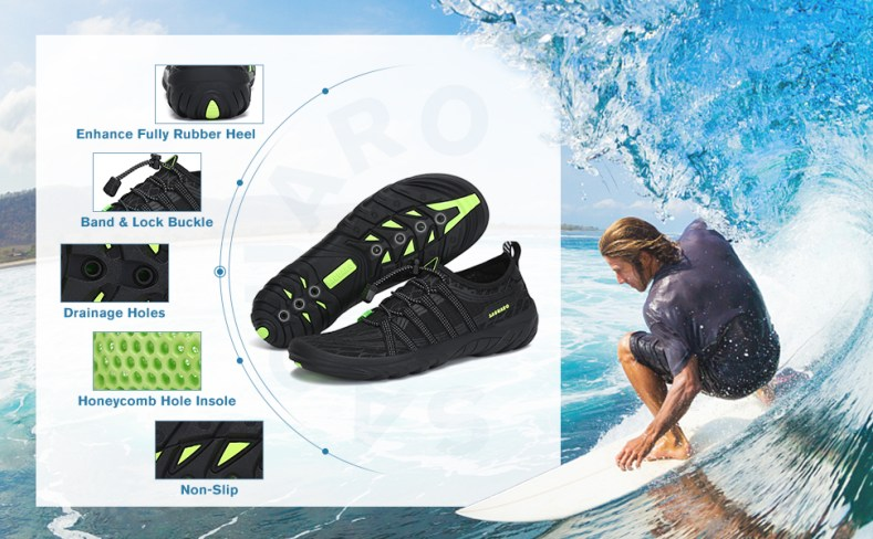 water shoes for men aqua shoes for women barefoot quick dry