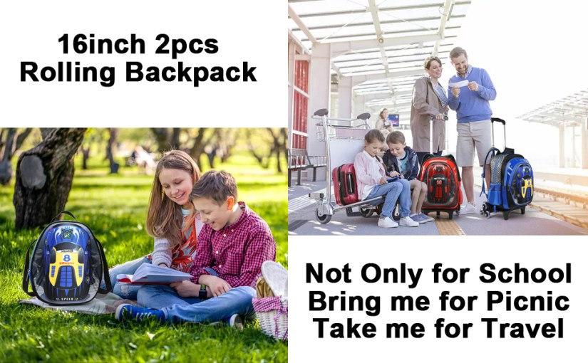 backpack on wheels kids rolling backpack boys rolling backpack 18 inch backpack backpack rolling