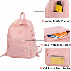 School Backpack with Diffrent Pockets