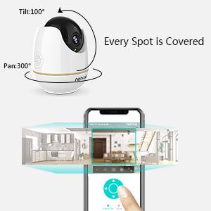 Remote Pan & Tilt & Zoom