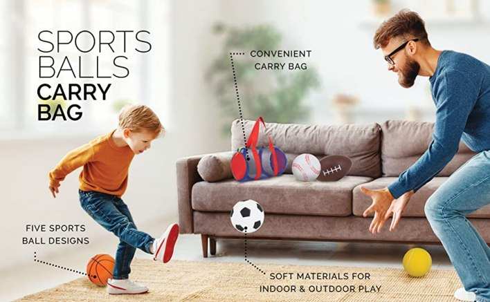 sports balls for toddlers