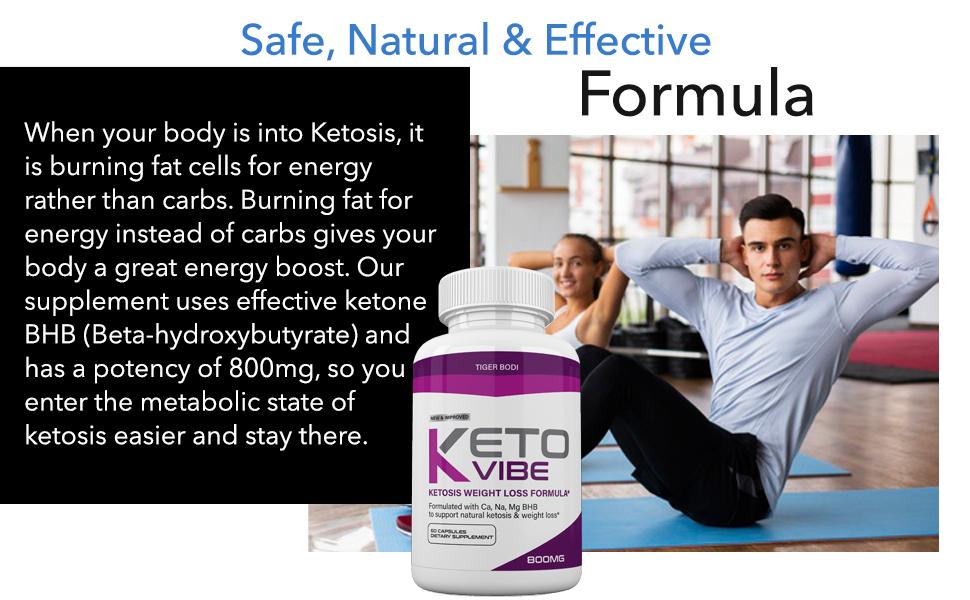 Keto vibe viber bhb diet pills weight loss formula shark tank capsules ketones fat burn pill lose