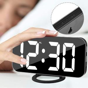 alarm clock larger display