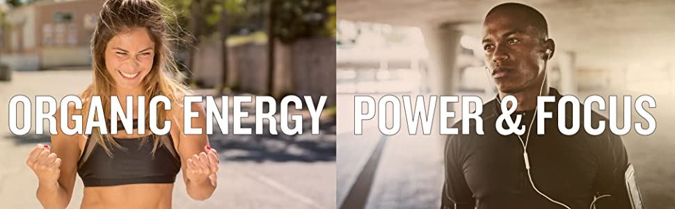 Organic Energy, Power, Focus Pre Workout