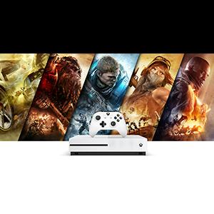 Xbox One ist der beste Ort, um Xbox 360 Spiele zu spielen - Xbox One S 500GB