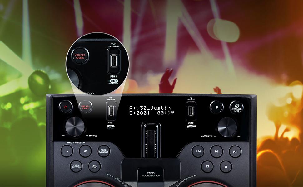 LG 1000W Hi Fi XBOOM System - OK75