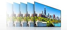 Entdecken Sie jedes Detail von 4K X-Reality PRO neu - Sony KD-55XE7005 Bravia