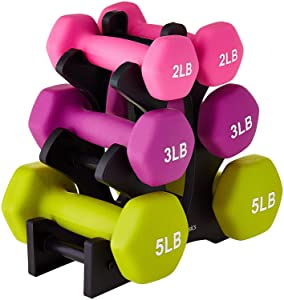AmazonBasics Neoprene Workout Dumbbell