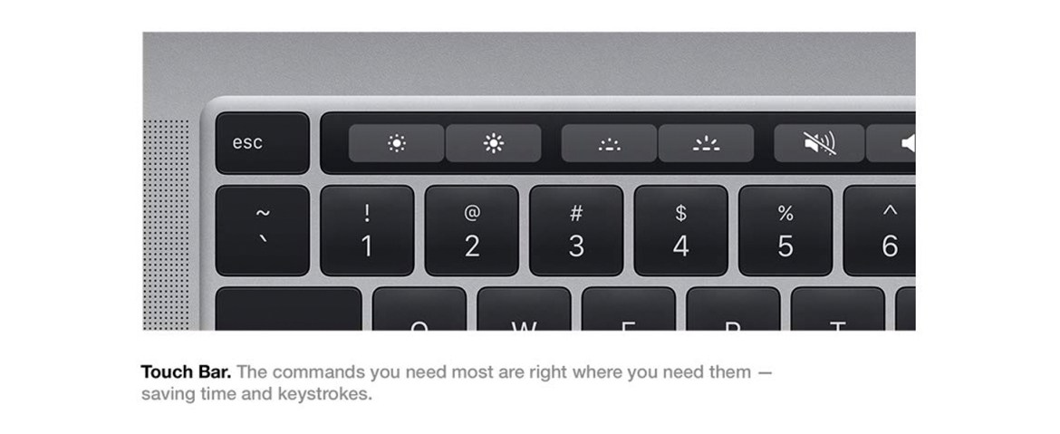 Apple Macbook Pro Touch Bar and Touch ID