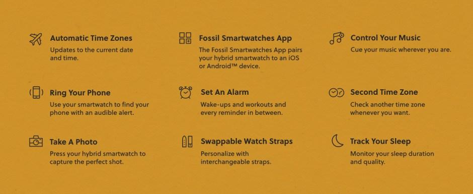 Fossil Smart watch hybrid