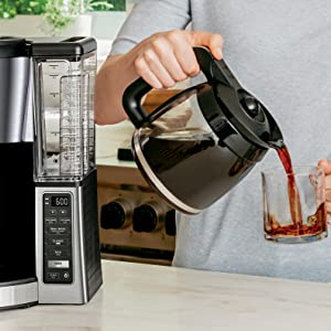 CE251, Ninja, Coffee, Brewer, Mid-Brew pause