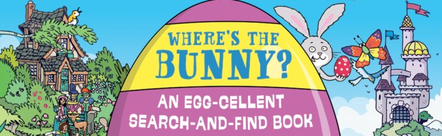 easter bunny egg hunt spot the difference fairy tale search and find hidden object wally waldo