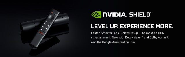 nvidia shield, 4k hdr, dolby vision, dolby atmos, google assistant