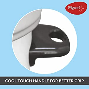 Cool touch handles