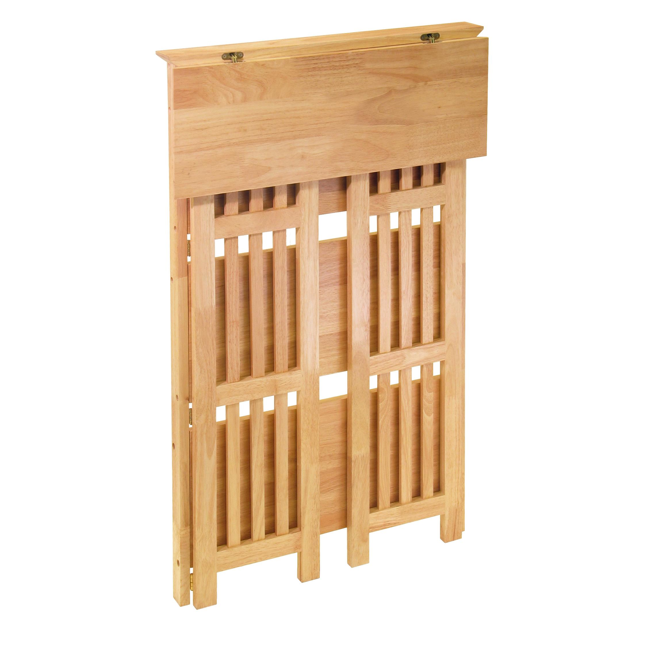 collapsible shelf for craft shows