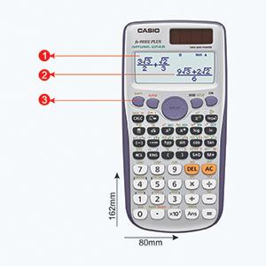 Casio Fx 991es Plus Non Programmable Scientific Calculator 417 Functions