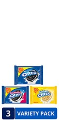 'OREO Original, Double Stuf & Golden Cookies Variety Pack, Family Size, 3 Packs