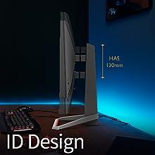 benq mobiuz ex2510 gaming monitor gamer has id design