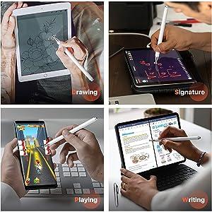 drawing fine tip styles xmate amazon basics smartphone devic