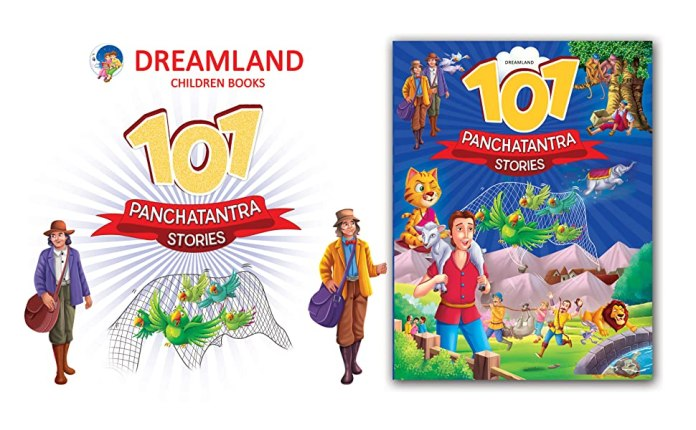 101 Panchtantra, classic tales, animal stories