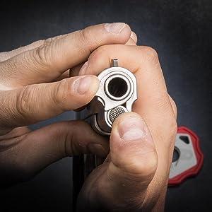 Officers model 1911 wilson bushing wrench 1911 breakdown tool muzzle break bushing sight adjustment
