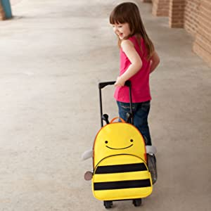 skip hop, luggage, rolling backpack, backpack, kid luggage