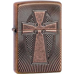 religious, spiritual, zippo lighter, zippo, windproof, black ice, cross, rosary, spiritual lighter