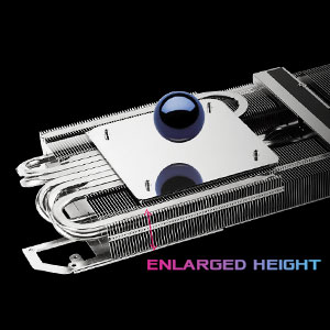 Heatsink MaxContact/2.9-slot Design