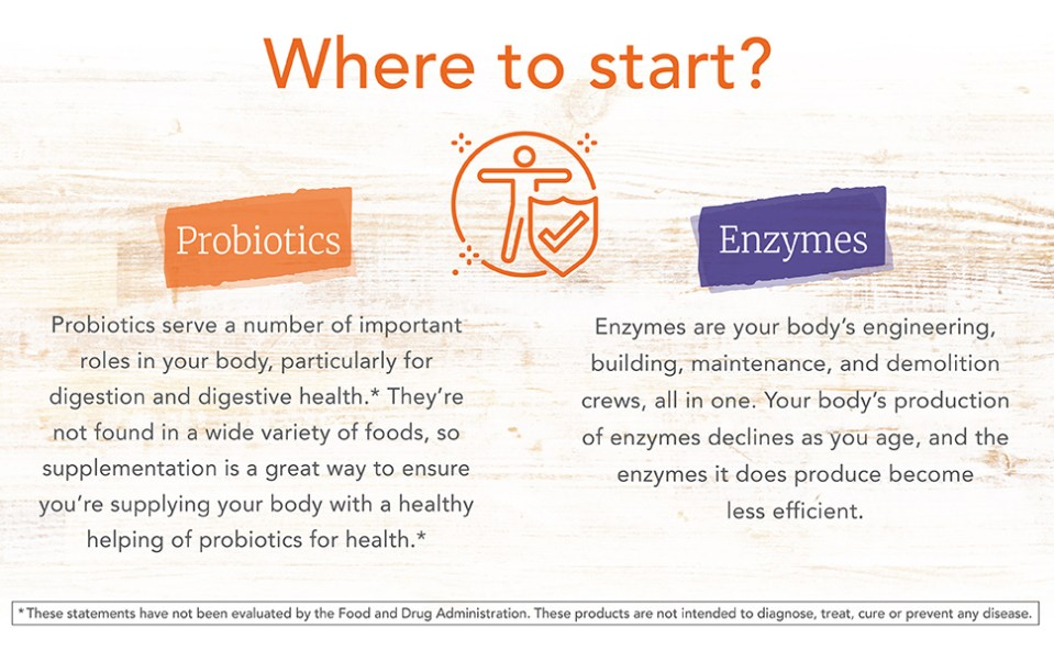 health healthy supply age produce efficient enzymes probiotic