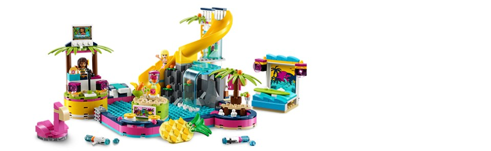 LEGO 41374 Friends Andrea's Pool Party Set Review