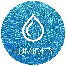 Humidity.
