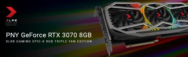 PNY GeForce RTX 3070 8GB