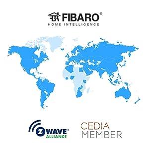 Fibaro, z-wave alliance, z-wave installer, CEDIA