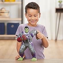 final de jogo dos vingadores; guerra infinita dos vingadores; hulk; figura de ação do hulk; bruce banner; mcu; maravilha filme