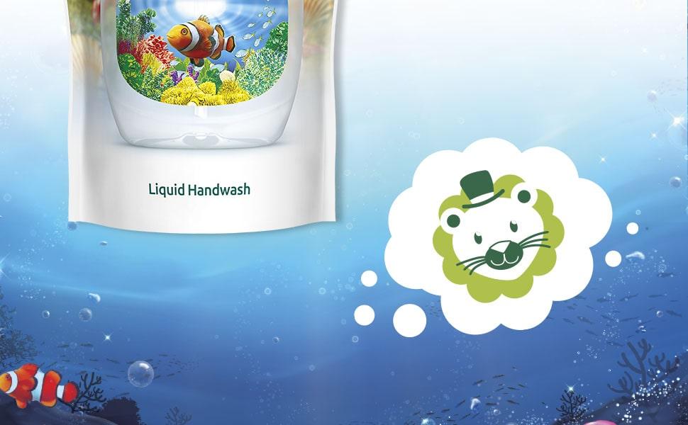 Palmolive Handseife, Handseife, Flüssigseife, Seife, antibakteriell, Nachfüllbeutel