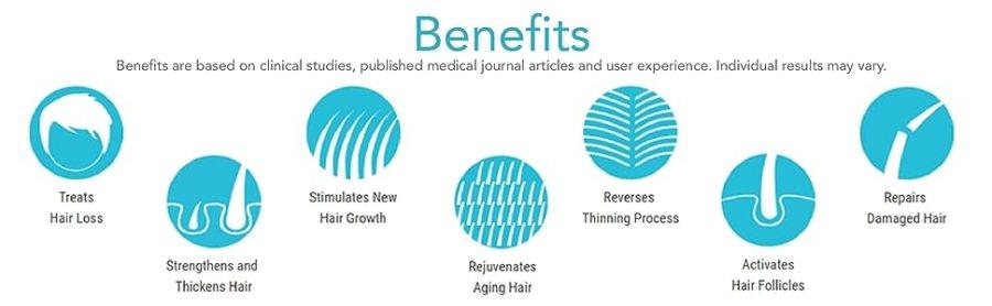 benefícios hairmax