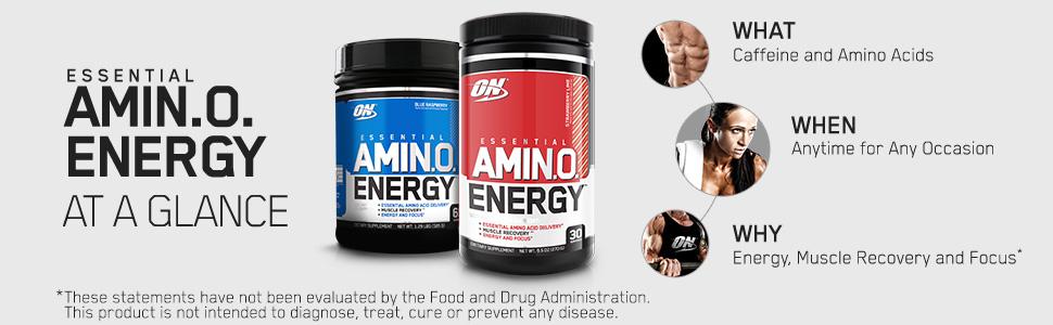 amino energy caffeine bcaa amino acids