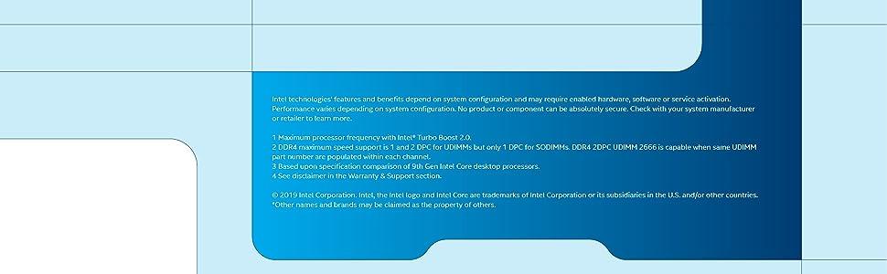 9th gen Intel Core i3-9100 desktop processor