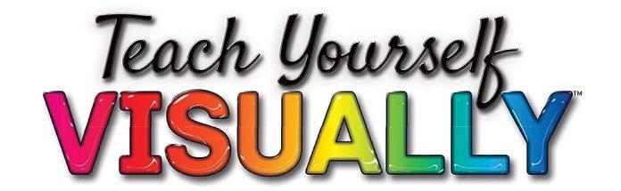 visual learning, teach yourself visually, visual series, visual books, teach yourself visually books