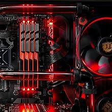 Skytech Gaming Red LED PC Internal