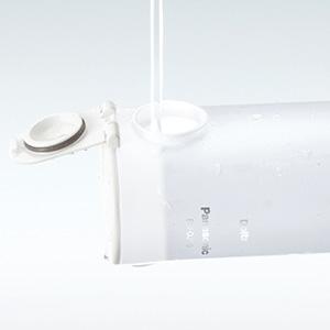 Panasonic kablosuz diş suyu Flosser, Oral Irrigator, kolay doldurulan su haznesi EW-DJ10-w