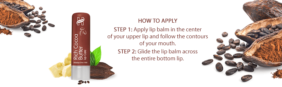 How to apply lip balm
